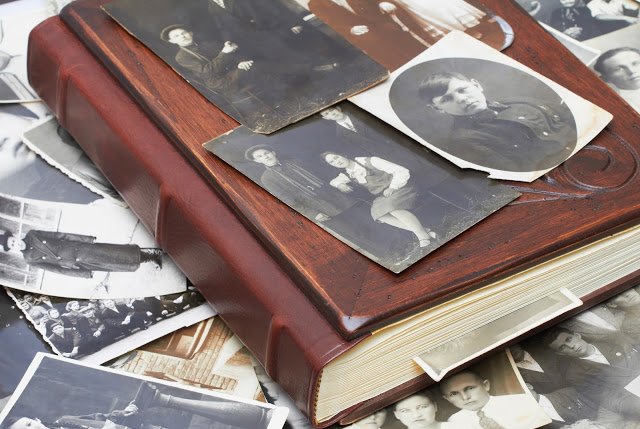 Old family photographs tend to fade out with time. Might be a good idea to store their digital copies.