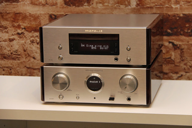 Marantz HD-CD1 used in pair with Marantz HD-AMP1