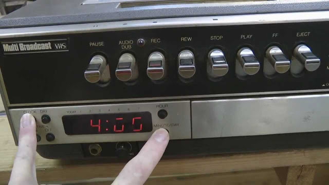 Programming the timer on a VCR to get the right TV shows recorded was sometimes tricky